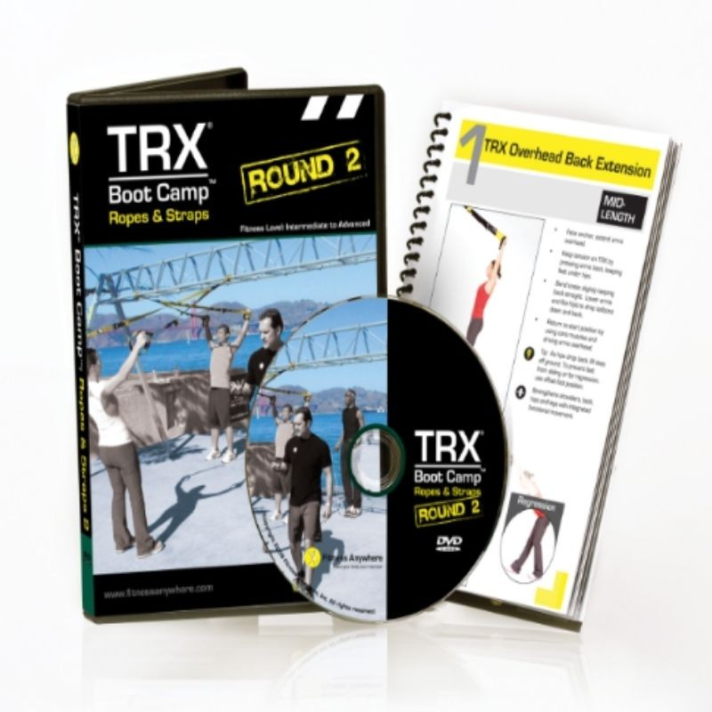 DVD TRX Boot Camp Ropes and...