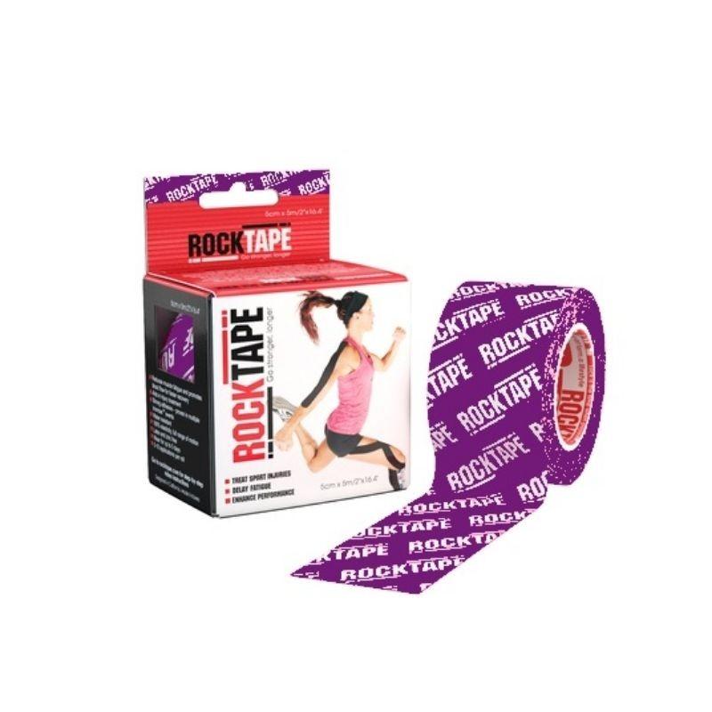 Tape 5cm x 5m - Purple Logo